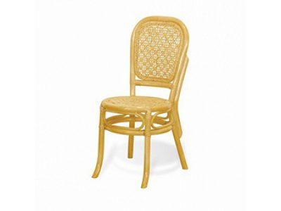 Плетенный стул из ротанга